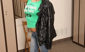 Club Seventeen Cosette Ibarra A hot teenage girl pleasuring herself in the lockerroom