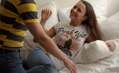 Club Seventeen Lane Teenage cutie nailed by a big stiff pecker on the couch