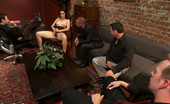Bound Gangbangs Kimberly Kane degrades herself sexually in order to get hired at a prestigious firm. She is tied up and gangbanged by the 4 men interviewing her.