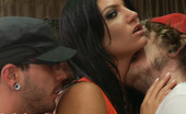 Bound Gangbangs Cassandra Nix stars in her first gangbang where she is handcuffed to a bed and used by a house full of frat boys.