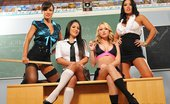 "Big Tits At School Death To All But Brazzers! Jenaveve Jolie And Lisa Ann And Sienna West And Madison Scott What do dominant female authority figures, a ""Human Centipede"" suck-and-fuck fest featuring Jenaveve..."