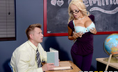 Big Tits At School Punishing the Professor Breanna Sparks Better be on your best behavior when you step into Mrs. Breanna Sparks's class. She doesn't take any...