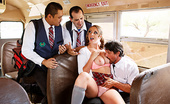 Big Tits At School The Boobs on the Bus Go Round Brooke Wylde Every day, bus driver Tommy Gunn watches the school slut Brooke Wylde showing off her ass and tittie...