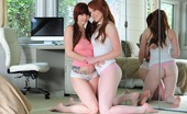 Lucy Ohara 119296 Pounds Ivy Snow Hard With Her Strap On While Both Girls Have Some Fun