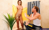 I Have A Wife Jada Stevens Jada decided to take a shower while the plumber is on his way. He lets himself into the house and knocks on her bathroom door, she then gives him permission to enter. She lets him know the toilet is broken but, she needs something else plugged. She drops