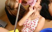 Katie Fey girlskissing Kisses A Hot Blonde Teen
