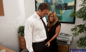 Naughty Office Kristal Summers Busty blonde worker is horny at works and has hot sex with a co worker.