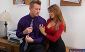 Naughty Office Madison Ivy Gorgeous babe Madison Ivy cheats on her husband to fuck her big cocked boss.