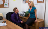 Naughty Office Brandi Love Hot Brandi Love has good sex with her big cocked boss.