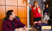 Naughty Office Darla Crane Syren De Mer has the hots for the new intern that Darla Crane hired. Apparently he did whatever it took to get the position. Since Syren finds him attractive Darla decides to show her exactly what the intern did to earn his job. These lovely ladies have h