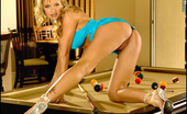 Naughty Hiney Foxes.com Amber Evans Pool Eight Ball Billiard the way its meant to be played