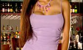 Sexy Sweetheart Foxes.com Jada Liu Sexy Long Legs Bar Girl with Tight Pussy