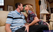 Seduced By A Cougar Briana Banks Sexy cougar Briana Banks teaches a young a lesson in fucking