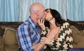 Seduced By A Cougar Veronica Avluv Busty sad brunette MILF has sex with younger cock.