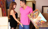Seduced By A Cougar Darla Crane Darla Crane doesn't like a piece of work from an artist so she decides to fuck him.