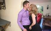 Seduced By A Cougar Nina Hartley Busty Nina Hartley decides to fuck younger guy while she is alone with him.