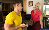 Seduced By A Cougar Emma Starr Emma Starr is horny and hot cougar who decides to fuck lucky guy in her house.