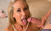 Seduced By A Cougar Brandi Love Tyler shows up at his ex boss's, Brandi Love's, house. He came to beg for his job back. She fired him cause he couldn't take orders. To prove he's changed she orders him to lick and fuck her pussy. He does it with pleasure.