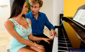 Seduced By A Cougar Ariella Ferrera 122952 Ariella brought Michael over to give her lesson on her new piano. After Michael started playing a few pieces, Ariella thought she would be better off playing another instrument. It just so happened that Michael unknowingly brought his male organ for her t