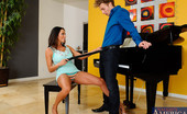 Seduced By A Cougar Ariella Ferrera Ariella brought Michael over to give her lesson on her new piano. After Michael started playing a few pieces, Ariella thought she would be better off playing another instrument. It just so happened that Michael unknowingly brought his male organ for her t