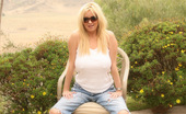 Rachel Aziani Sunny California Day I Was Not Planning To Shoot These Photos Because As You See I Am In My Ripped Up Jeans And Tank Top. Actually I Was Helping Shoot The Other Models, But I Wanted To Get Naked Too. Now..Can I Get You Naked?