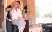 Rachel Aziani  See Sexy Busty Blonde, , Having Fun And Sharing Some Of Her Favorite Behind The Scenes Photos With Her Members!