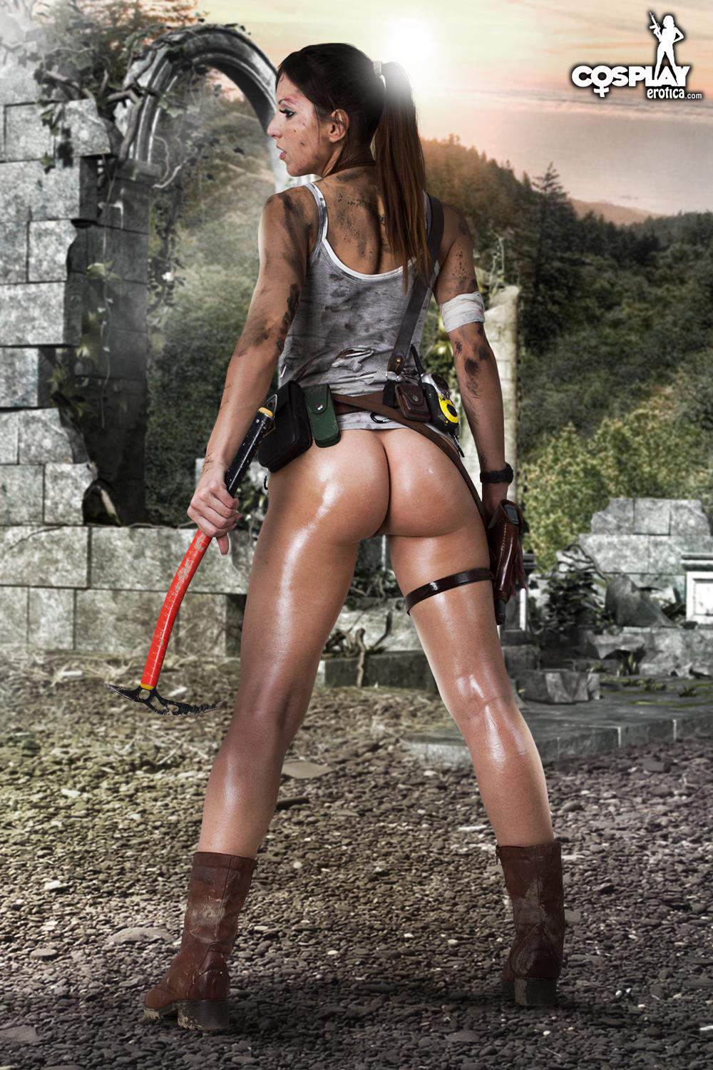 Laracroft erotic pic porn video