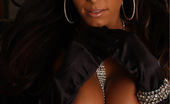 Alluring Vixens Candace Vixen Candace Shows Off A Little Bling Between Her Huge Breasts
