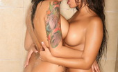 Alluring Vixens Bonus Vixens Busty Babes Nikki & Peaches Are In The Shower Together Have Some Good Wet Girl On Girl Fun
