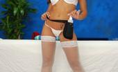 Massage Girls 18 Capri Cavalli 126542 Sexy Brunette Gives A Sexy Massage And Fucks Her Massage Patient!