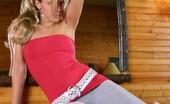 Karen Dreams Skintight Clothes On Teen Blonde
