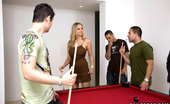 MILF Soup This Sexy Ass MILF Likes Taking The Cock Any Way She Can. Except She Prefers Do Get Fucked On The Pool Table. Some New Fetish With Velvet We Dont Know About?