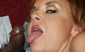 Gloryhole.com Janet Mason 130482 Janet Mason Sucks & Fucks Black Dick At Gloryhole
