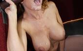 Gloryhole.com Janet Mason 130482 Janet Mason Sucks & Fucks Black Dick At Gloryhole
