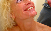 Gloryhole.com Heather Milf Blond Milf Sucks Off Black In Bathroom Gloryhole