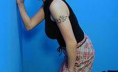 Gloryhole.com Alisha Redhead Interracial Gloryhole Blowjob