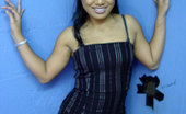 Gloryhole.com Leila Lei Asian Teen Gives Interracial Gloryhole Blowjob