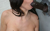 Gloryhole.com Karina Oreilley Young Brunette Fucked In A Bathroom Stall