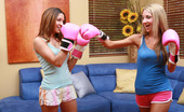 Her First Lesbian Sex Ann Marie & Sammie Rhodes Ann Marie Loves Her Workout. Getting Her Tight Body Nice And Sweaty Is Her Place For Pleasure. That'S Just Getting Her Training Partner Sammie All Hot And Bothered, But Ann Marie Doesn'T Know The Satisfaction Of Tongue Curls To The Clit. Looks Like Sammie