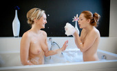 Her First Lesbian Sex Mutual Attraction Denisa And Linda Take It Slow, Gently And Tenderly Coaxing Each Other Through Foreplay And A Whimsical, Playful Bubble Bath On Their Way To Multiple Quivering Orgasms.