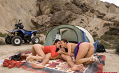 Private.com Claudia Rossi & Lady May Claudia Rossi Lady May Quad Desert Anal Fury Two Girls Alone In Desert Found And Fucked