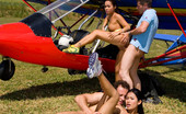 Private.com Jade Sin & Priva Jade Sin Priva Private Sports Instructor Get Into The Airplane With These Horny Girls