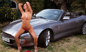 Private.com Jennifer Love Jennifer Love Private Sweet Babe In Red Dress Fucked On Luxury Car