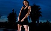 Private.com Lara Stevens Lara Stevens Three Magic Babes In Black Dresses By A Pool