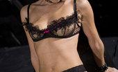Private.com Lena Cova Lena Cova 2 Private Brunette In Black Lingerie Shows Great Body
