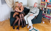 Private.com Nikky Thorne & Zafira May 138335 Old Lucky Fucker Old Lucky Fucker Is Dealing With Two Blondes
