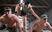 Private.com Daria Glower Two Bisexuals And A Chick Dominatrix In The Army Teaches Two Bisexuals
