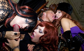 Private.com Lucy Love & Ellen Saint & Julie Silver Three Fetish Ladies Three Fetish Ladies Play With The Same Dick