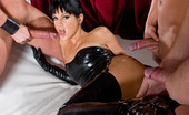 Private.com Sarah Twain Latex Stockings Model Perfect Model In Latex Stockings Gets Three