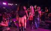 Private.com Evita De Luna & Minerva Pons & Yoha Galvez & Alexya Flores & Lesbians On Stage Three Hot Lesbian Groupies Licking Each Other